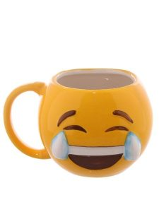 emoji carcajadas mug