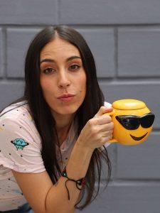 Cool emoji mug